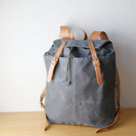 Waxed Canvas Day Pack