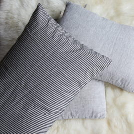 Striped Organic Pillow Sham