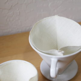 coffee filter | no. 4 | hemp