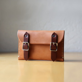 Buckle Wallet | Natural Tan