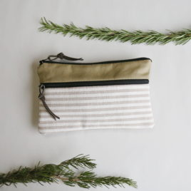 – SALE ITEM: Zippered Pocket Pouch