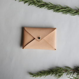 – SALE ITEM: envelope card wallet