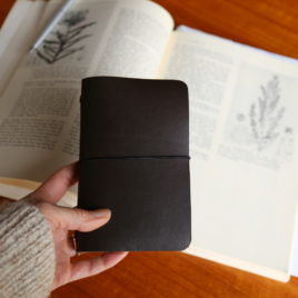 ~ Leather Notebook, Refillable