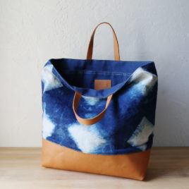 ~ Indigo Tote | Naturally Dyed